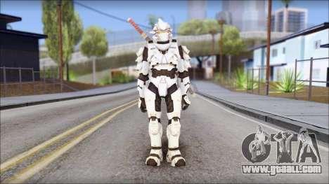 Halo 3 Hayabusa Armor for GTA San Andreas