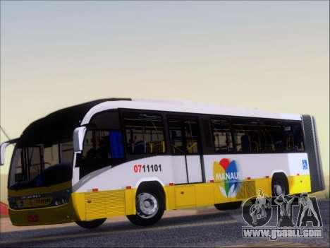 Neobus Mega BRT Volvo B12M-340M for GTA San Andreas inner view