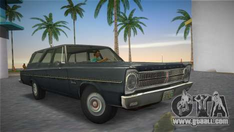 Plymouth Belvedere I Station Wagon 1965 for GTA Vice City