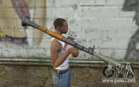 Rocket launcher AG7 for GTA San Andreas third screenshot
