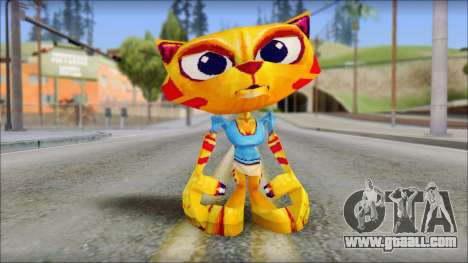 Juliette the Cat from Fur Fighters Playable for GTA San Andreas second screenshot