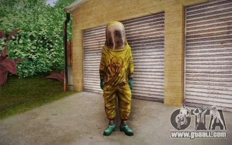 Hazmat Suit from Killing Floor for GTA San Andreas