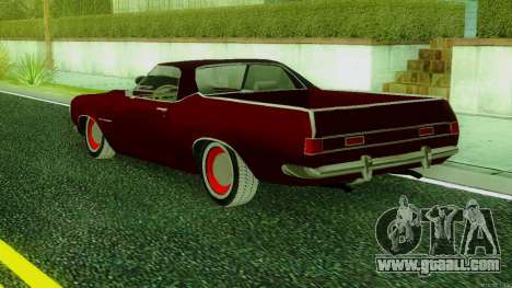 ГАЗ The Road SS v.2 for GTA San Andreas left view