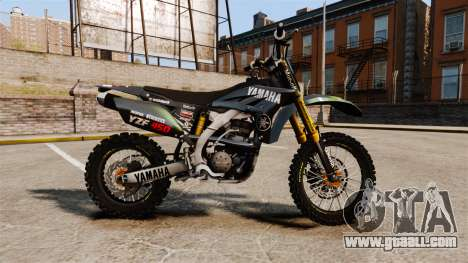 Yamaha YZF-450 v1.12 for GTA 4 left view