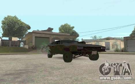 Interceptor for GTA San Andreas left view