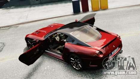 Ferrari 599 GTO for GTA 4 right view