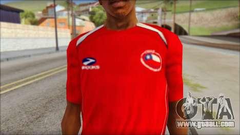 Chile T-Shirt for GTA San Andreas third screenshot
