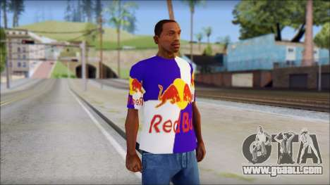 Red Bull T-Shirt for GTA San Andreas
