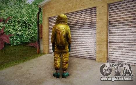 Hazmat Suit from Killing Floor for GTA San Andreas second screenshot