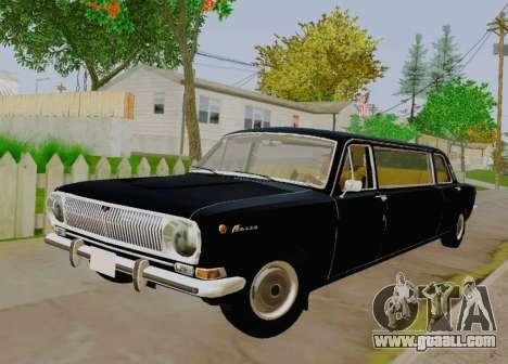 GAS 24-01 Limousine for GTA San Andreas