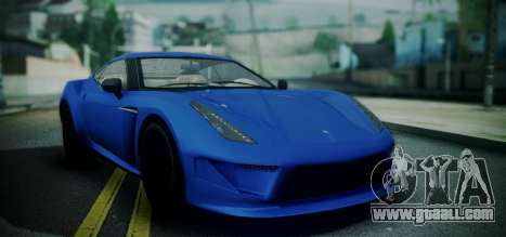 Grotti Carbonizzare from GTA 5 for GTA San Andreas