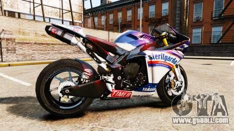 Yamaha YZF-R1 PJ2 for GTA 4 left view