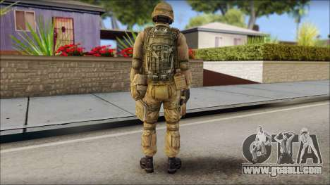 Desert Gafe Soldier Front 2 for GTA San Andreas second screenshot