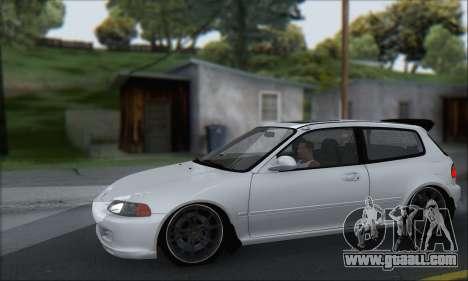 Honda Civic 1995 for GTA San Andreas