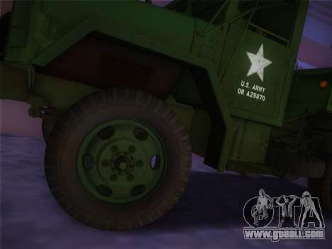 AM General M35A2 1986 for GTA Vice City right view