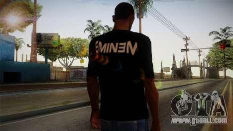 Eminem Fuck Off T-Shirt for GTA San Andreas second screenshot