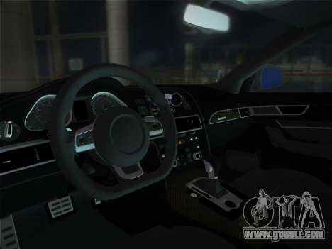 Audi RS6 for GTA Vice City right view