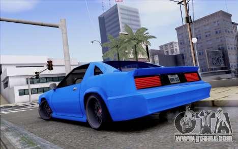 Buffalo Drift Style for GTA San Andreas back left view