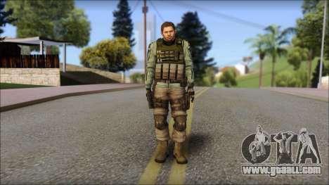 Chris Europa from Resident Evil 6 for GTA San Andreas