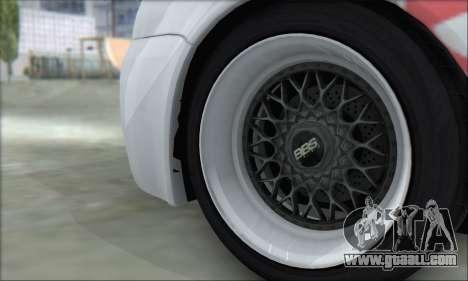 Volkswagen Golf MK4 R32 for GTA San Andreas upper view