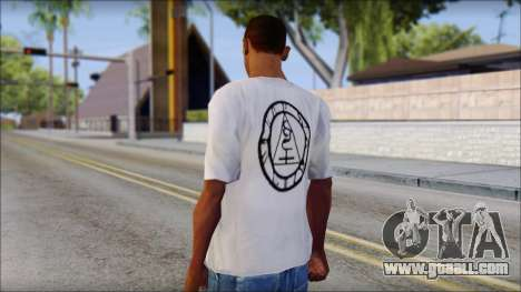 Silent Hill T-shirt for GTA San Andreas second screenshot