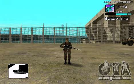 Perfect C-HUD for GTA San Andreas