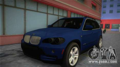 BMW X5 2009 for GTA Vice City