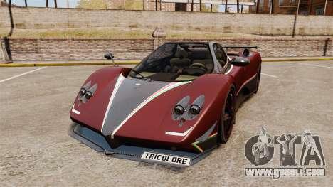 Pagani Zonda Tricolore for GTA 4