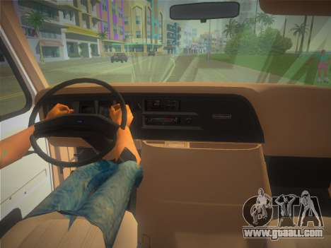 Ford E-350 1988 Cube Truck for GTA Vice City right view