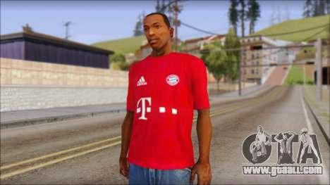 Bayern Munich 2013 T-Shirt for GTA San Andreas