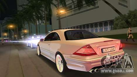 Mercedes-Benz CL65 AMG for GTA Vice City left view