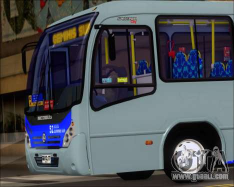 Neobus Spectrum City Mercedes Benz OF-1722 for GTA San Andreas inner view