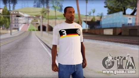 A.Friedrich Trikot T-Shirt for GTA San Andreas
