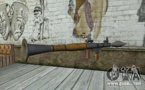 Rocket launcher AG7 for GTA San Andreas second screenshot