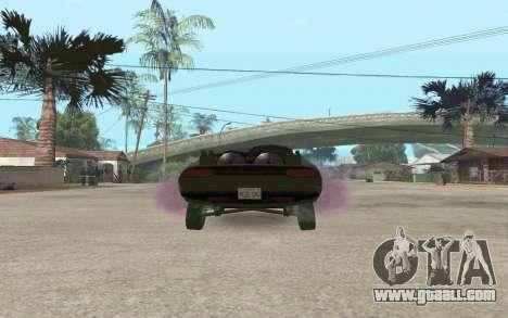 Interceptor for GTA San Andreas back left view