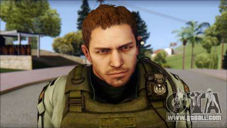 Chris Europa from Resident Evil 6 for GTA San Andreas third screenshot