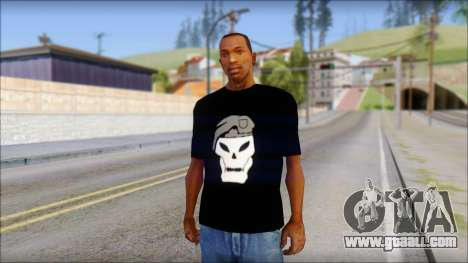 Black Ops T-Shirt for GTA San Andreas