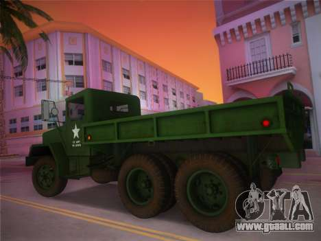 AM General M35A2 1986 for GTA Vice City left view