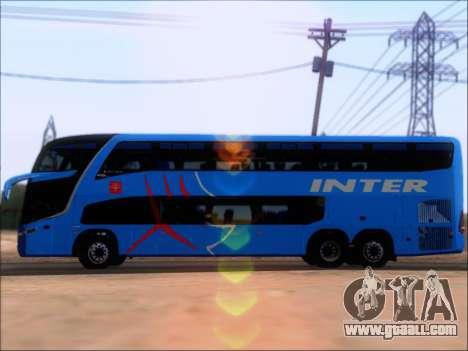 Marcopolo Paradiso G7 1800 DD Inter Sur for GTA San Andreas back view
