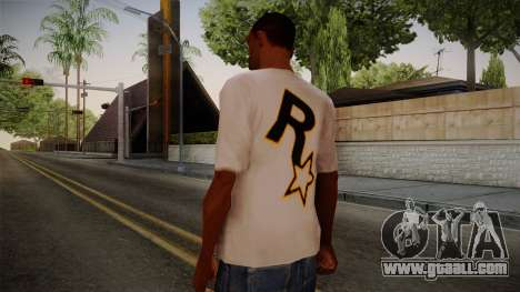 Rockstar Games Shirt for GTA San Andreas second screenshot
