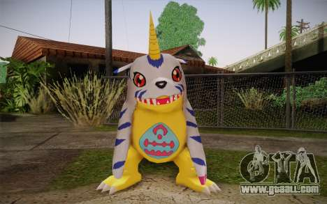 Gabumon for GTA San Andreas