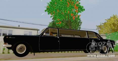 GAS 24-01 Limousine for GTA San Andreas left view