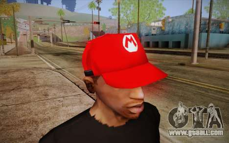 Super Mario Cap for GTA San Andreas