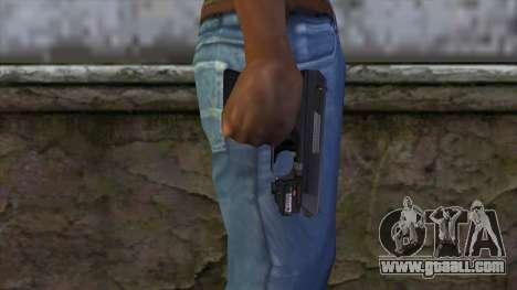 VP-70 Pistol from Resident Evil 6 v1 for GTA San Andreas third screenshot