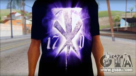 Wrestle Mania T-Shirt v1 for GTA San Andreas third screenshot
