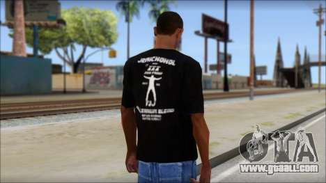 Chris Jericho Jerichohol T-Shirt for GTA San Andreas second screenshot