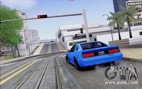 Buffalo Drift Style for GTA San Andreas side view