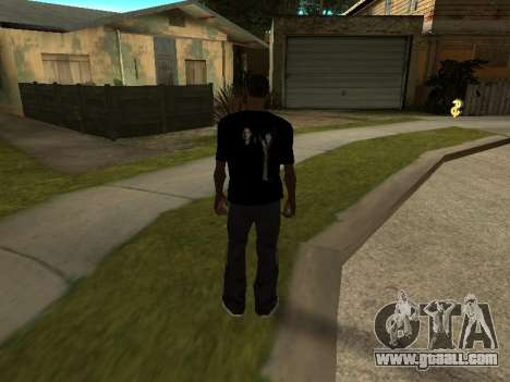 T-Shirt Supernatural for GTA San Andreas second screenshot