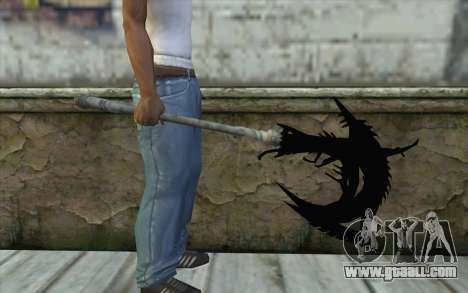 Dante Demonic Axe for GTA San Andreas third screenshot