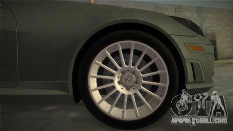 Mercedes-Benz SLK55 AMG for GTA Vice City back left view